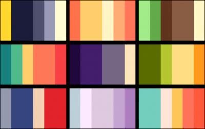 שילובי צבעים